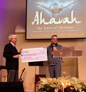 Ahavah Donation to SSK&P